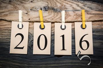 2016 Kreidetafel