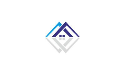 construction home idea logo
