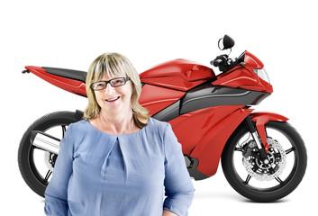 Motorbike Motorcycle Bike Roadster Transportation Concept