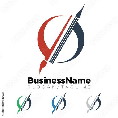 quotart painting logo icon vectorquot immagini e vettoriali