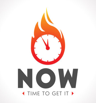 Logo - the time is now