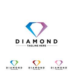 Diamond Boutique Icon Logo