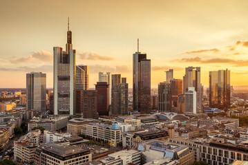 Frankfurt am Main Architektur Skyline Panorama