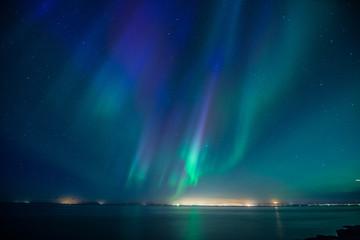 Wall Mural - Iceland Aurora Borealis4