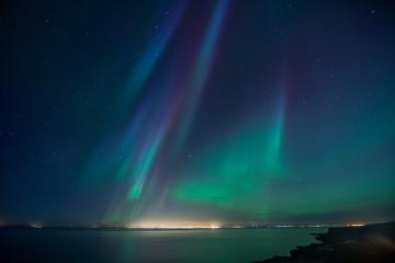Wall Mural - Iceland Aurora Borealis3