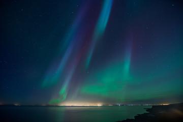 Wall Mural - Iceland Aurora Borealis2