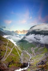 road of the Trolls, Trollstigen , Norway