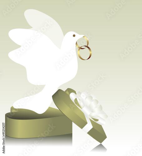 Ehering Hochzeitsring Hochzeitskarte Heiraten Heiratskarte