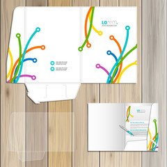 Folder template design