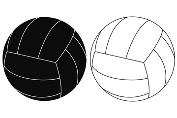 Volleyball ball.