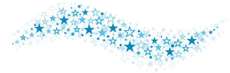 Blue Stars Background Swing