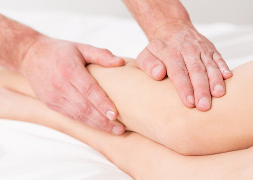Massage lymphatic drainage therapy
