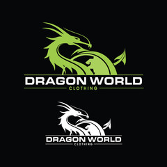Dragon World Logo