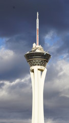Stratosphere tower in Las Vegas, Nevada
