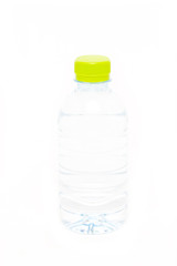 Water bottle isolate on white background.