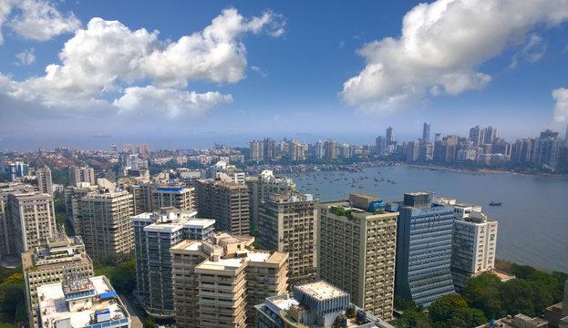 India Mumbai financial capital  Skyline