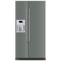 Refrigerator with 2 doors