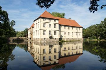 Schloss Strünkede in Herne, NRW, Deutschland