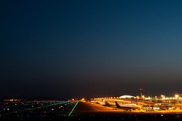Kansai airport ,KIX,osaka,japan(関西空港の夜景)