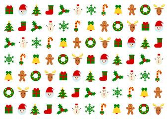 Christmas クリスマス イラスト 背景素材
