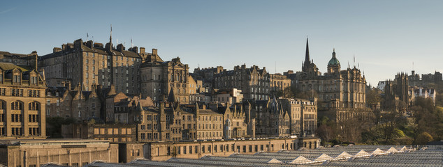 A view of Edinburgh's skyline
