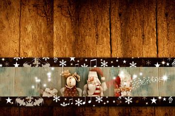 Christmas Santa Claus templates