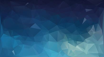 Geometrical triangular background