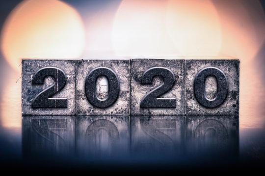 2020 Concept Vintage Letterpress Type