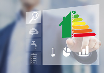 Energy efficiency rating of buildings for sustainable developmen