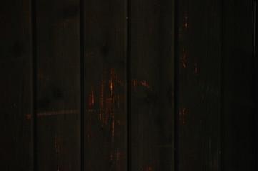 Keuken foto achterwand Smal steegje Holzwand