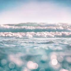 Fototapete - Ocean Wave Bokeh