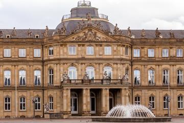 Am Schlossplatz in Stuttgart