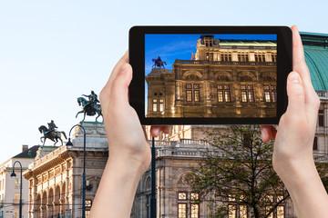 snapshot of State Opera House in Vienna