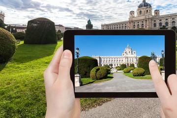 snapshot of Natural History Museum in Vienna