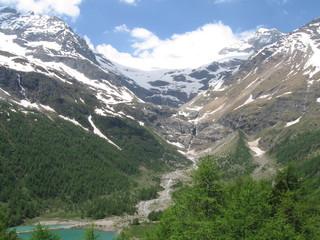 Breath- Taking View in Swiss Alps