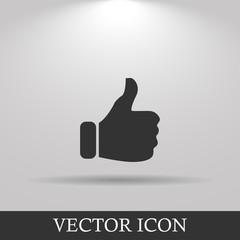 Like icon. Flat design style modern vector illustration.