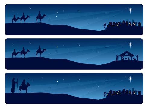 Nativity Banner
