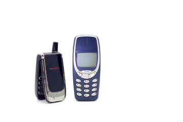 Couple of old cellphones