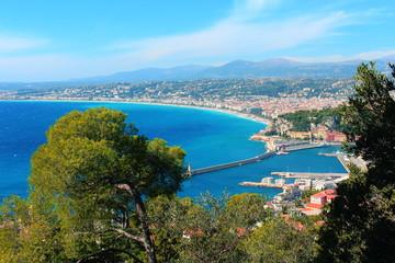 Beautiful beach, south France and Monaco