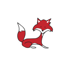 Animal red fox