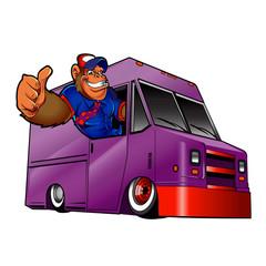 gorilla in a truck