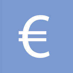 Euro sign icon. Currency icon.