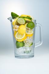 Lemon and lime jar