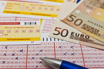 Lotto Spielschein abgeben