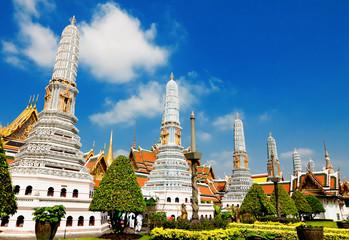 Garden Poster Temple Temple Phra Kaew, Bangkok, Thailand