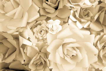 reuse paper roses background texture