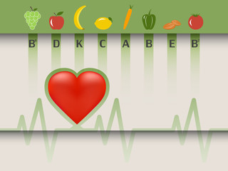 Healthy food for the heart