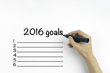 business goals in 2016