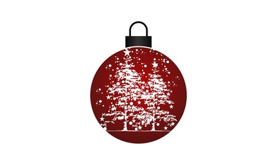 Hanging Bauble and Christmas Tree