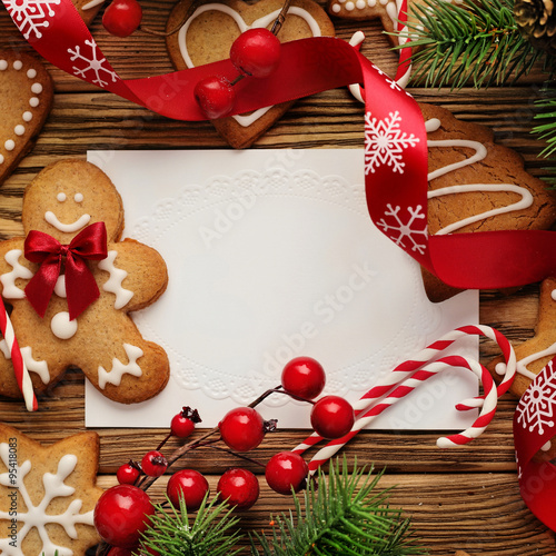 picture frame christmas card